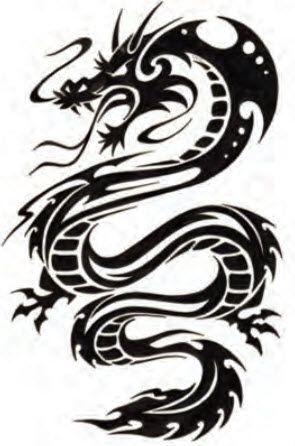 black cool treibal dragon 295 446 tats pinterest zeichen. Black Bedroom Furniture Sets. Home Design Ideas