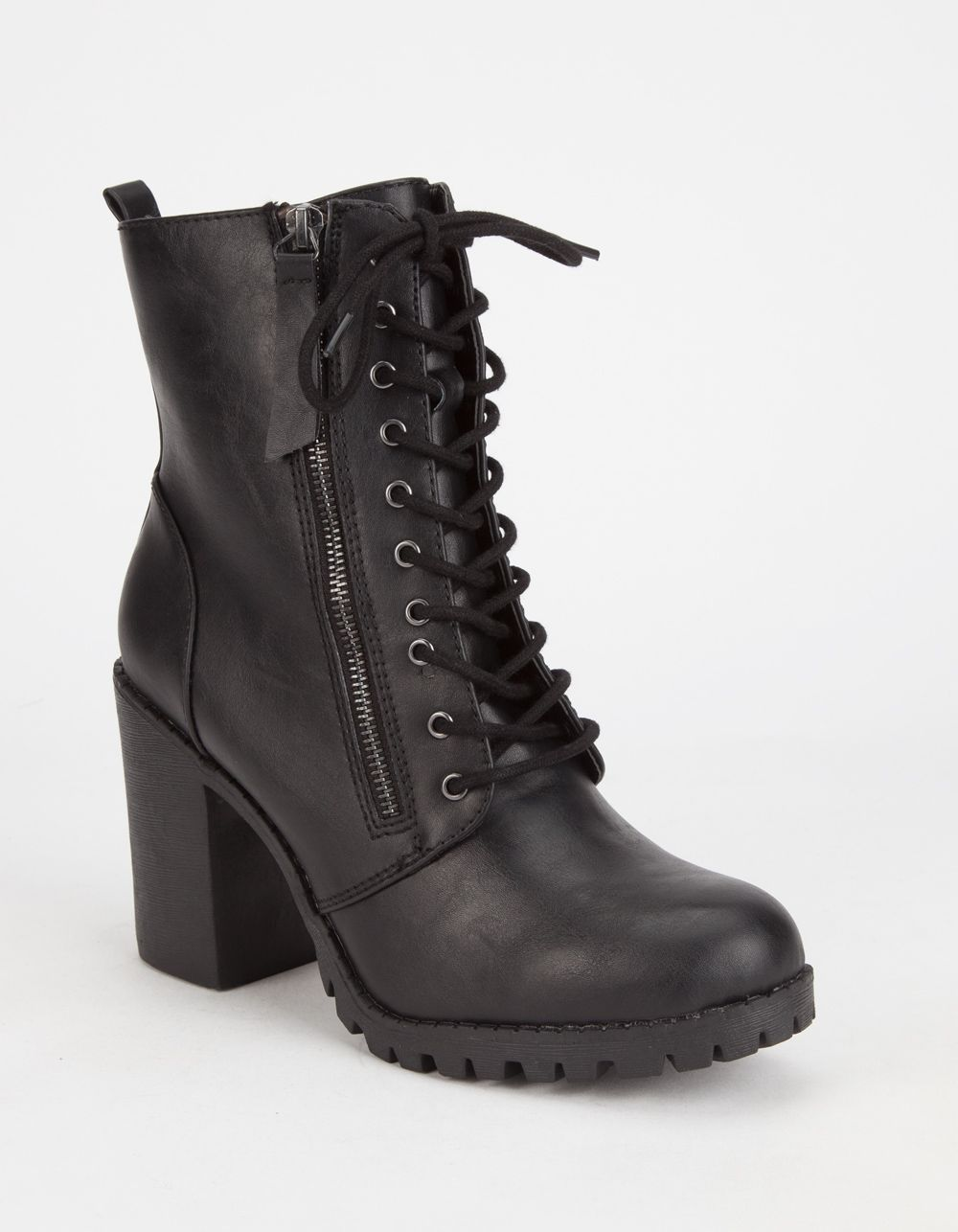 b2a5c488758 SODA Malia Womens Combat Boots 272650412 | Boots & Booties | Shoes ...