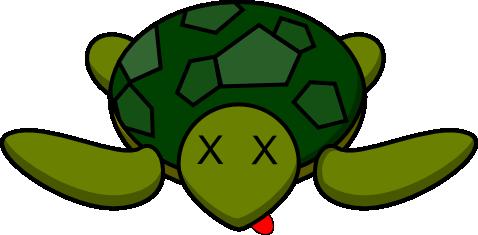 Dead Turtle Png 478 235 Cartoon Turtle Turtle Outline Turtles Funny