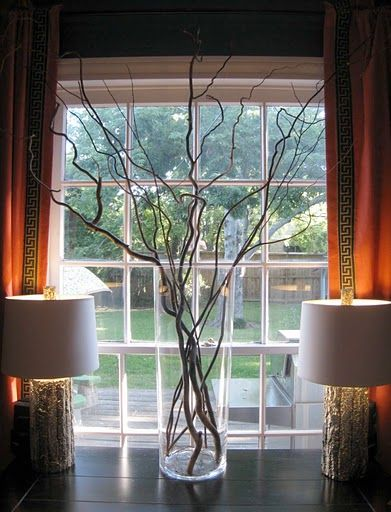 Plant A Curly Willow In Your Yard Decor Home Decor Fall Table Centerpieces