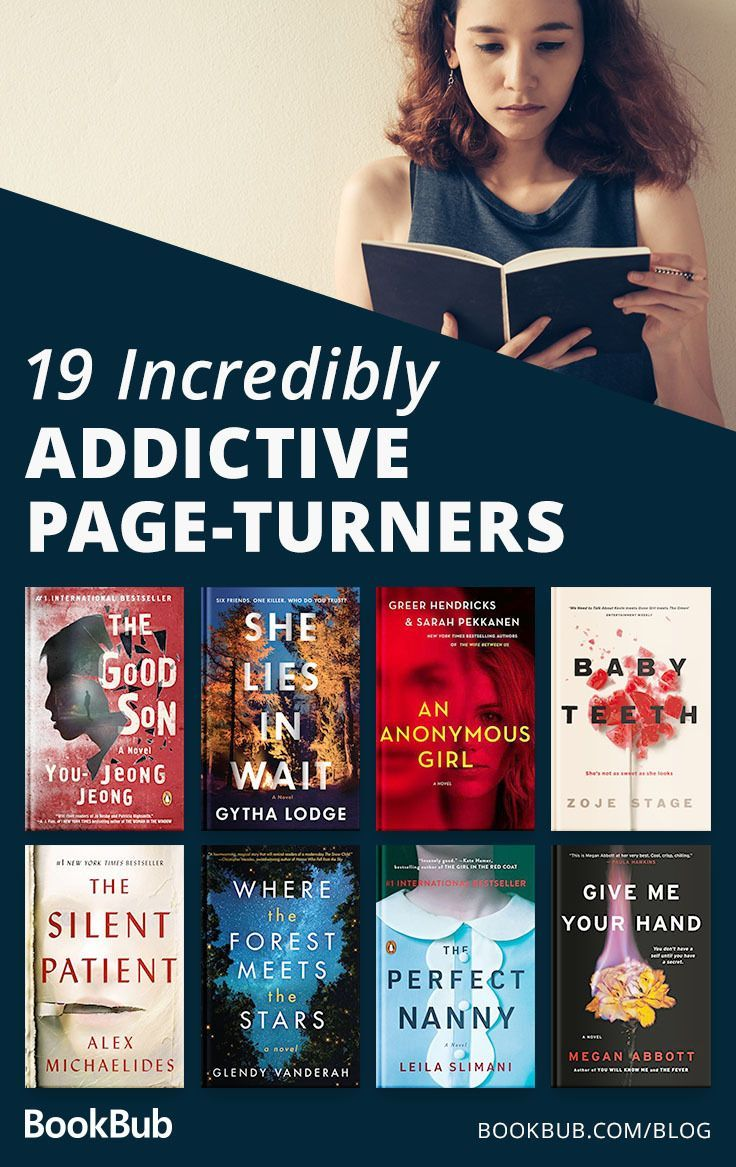 19 Incredibly Addictive Page-Turners #bookstoread