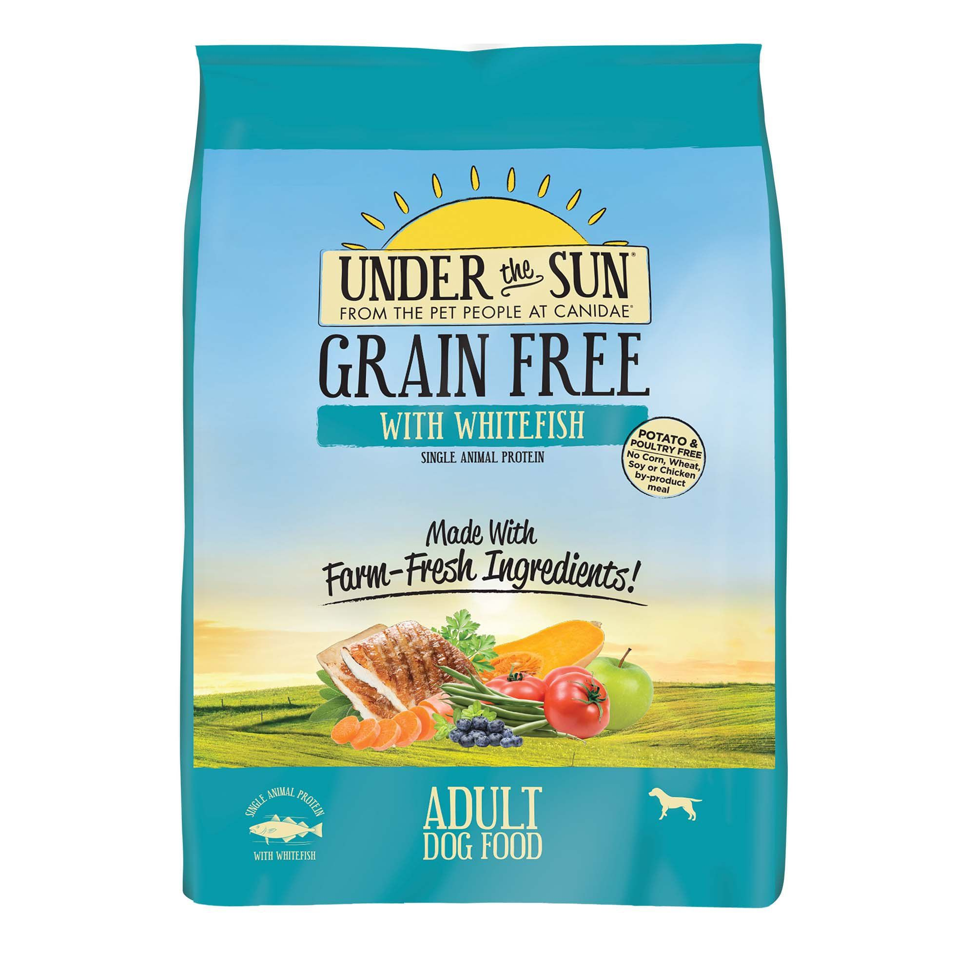Canidae Under The Sun Grain Free With Whitefish Adult Dry Dog Food