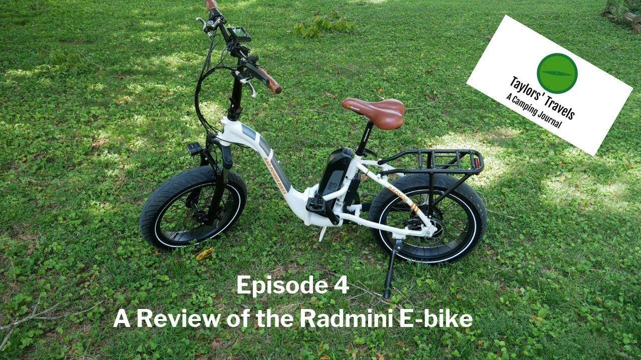 Taylors Travels Episode 4 Radmini E Bike Review Youtube In 2020