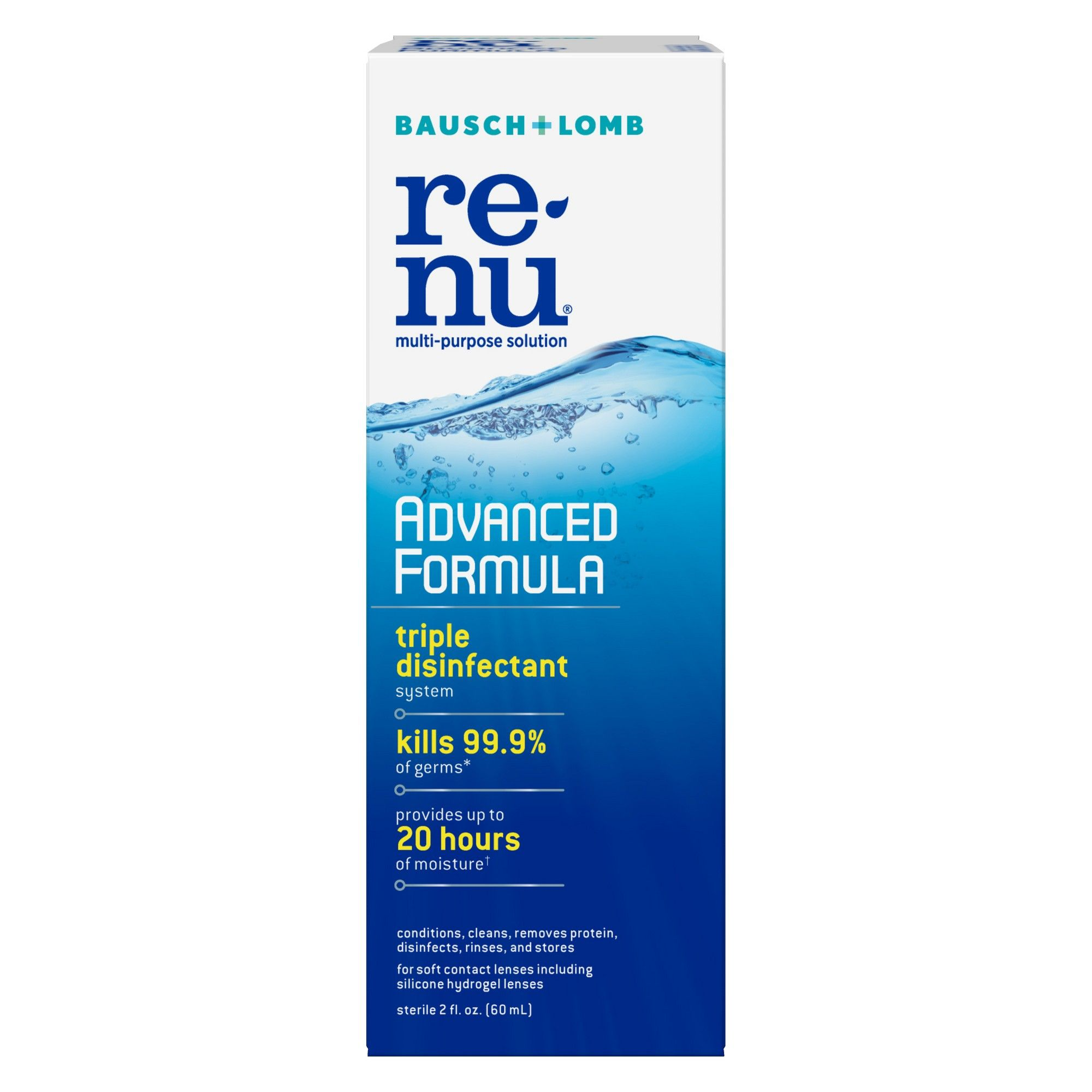 Renu Multipurpose Contact Lens Solution Travel Kit 2 Oz Contact Lens Solution Contact Solution Contact Lenses