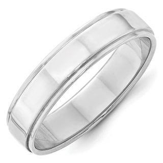 10KW 5mm Flat with Step Edge Band Size 9 Size 9 Length Width 5