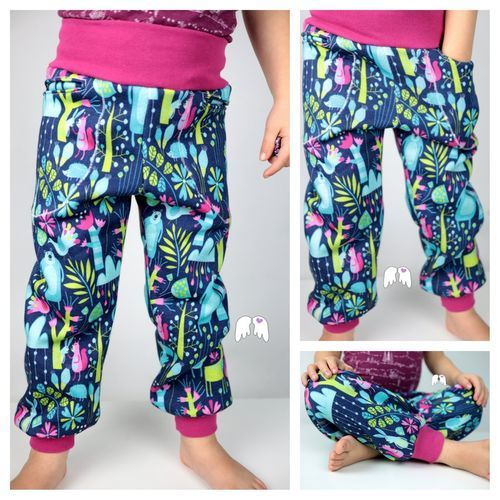 Photo of Free sewing pattern 10 minute leggings 2.0 by Lachwichtel