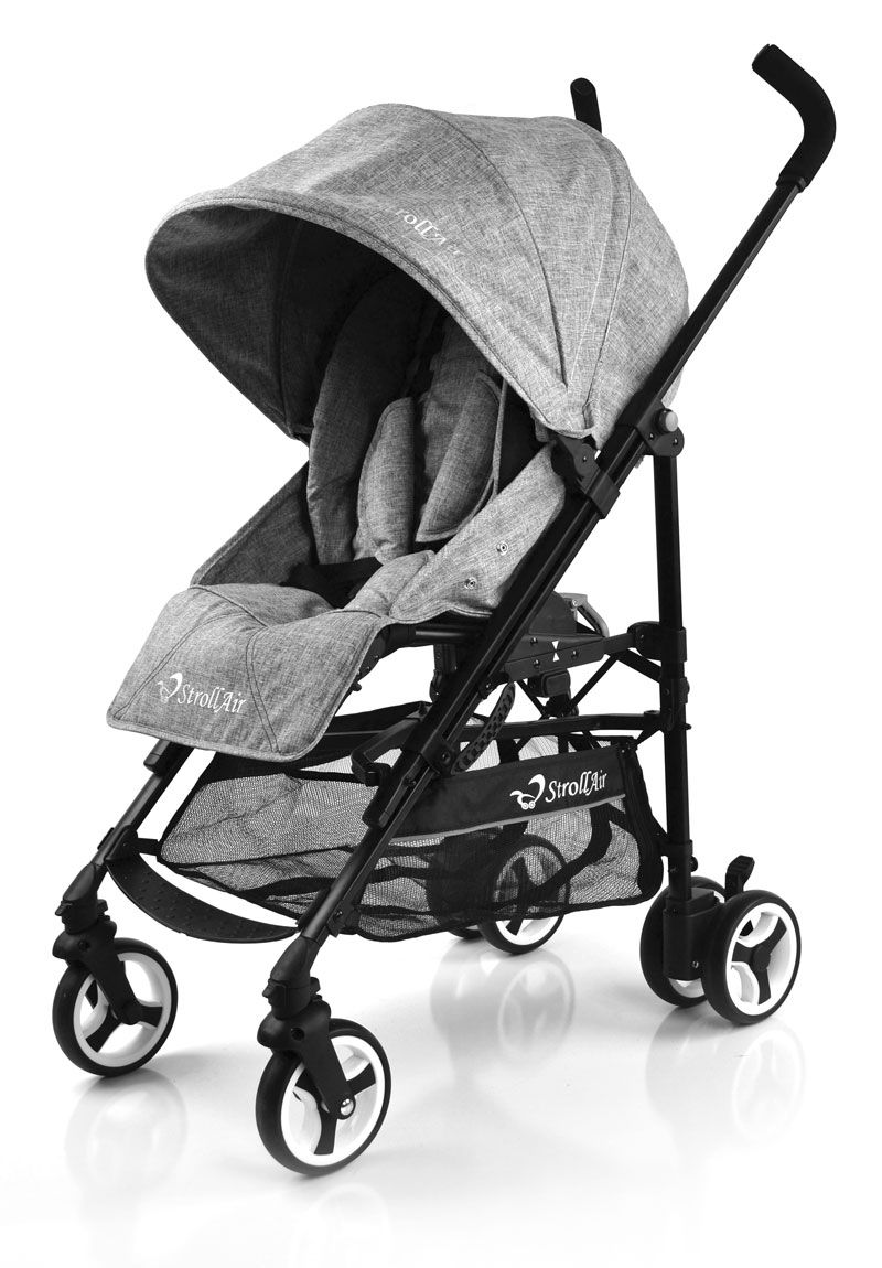 Have An Inquiring Mind Baby Stroller Reclining Lightweight Folding Shock Mother & Kids Absorbering Portable Two-way Push Cart For Four Seasons Use Travel Plus 2 Set And To Have A Long Life.