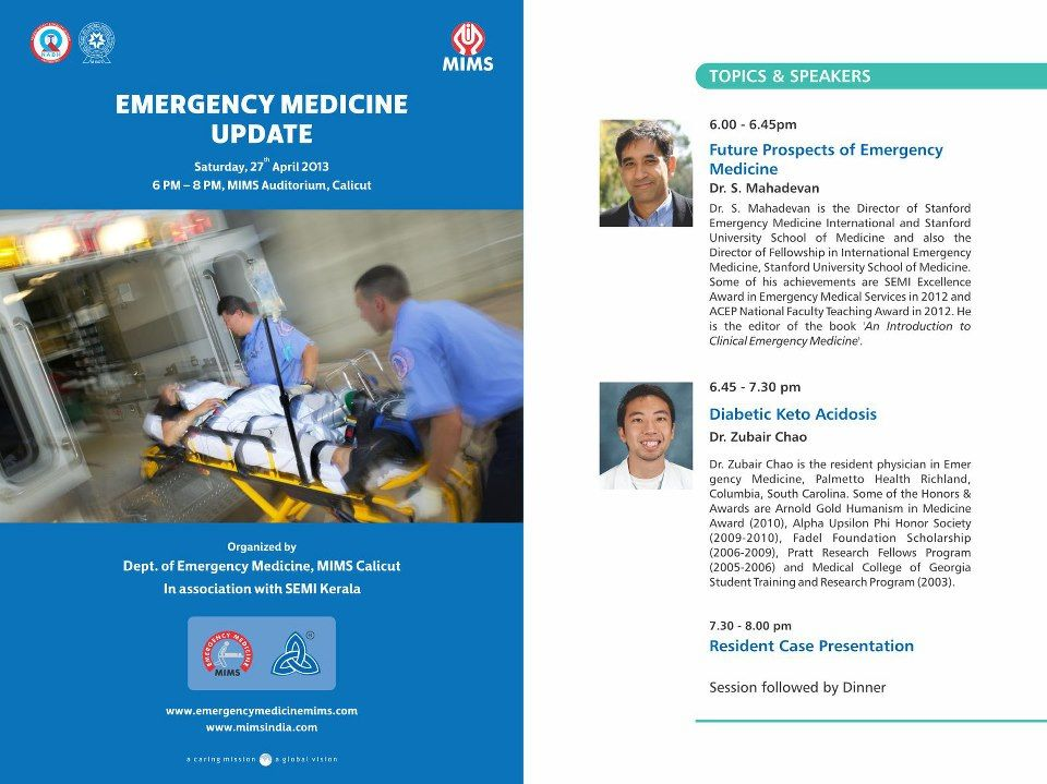 Emergency Medicine Update In Mims Emergency Medicine Medical Science Medical Professionals