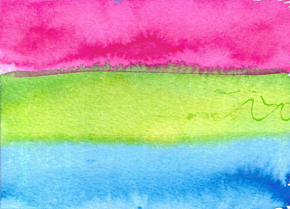 Polysexual Pride Flag Beanie
