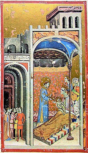 File Stephen I U0026 39 S Birth  Chronicon Pictum 037  Jpg