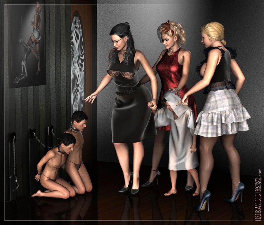Фемдом клуб красное-черное, зрелая жена дает в анал