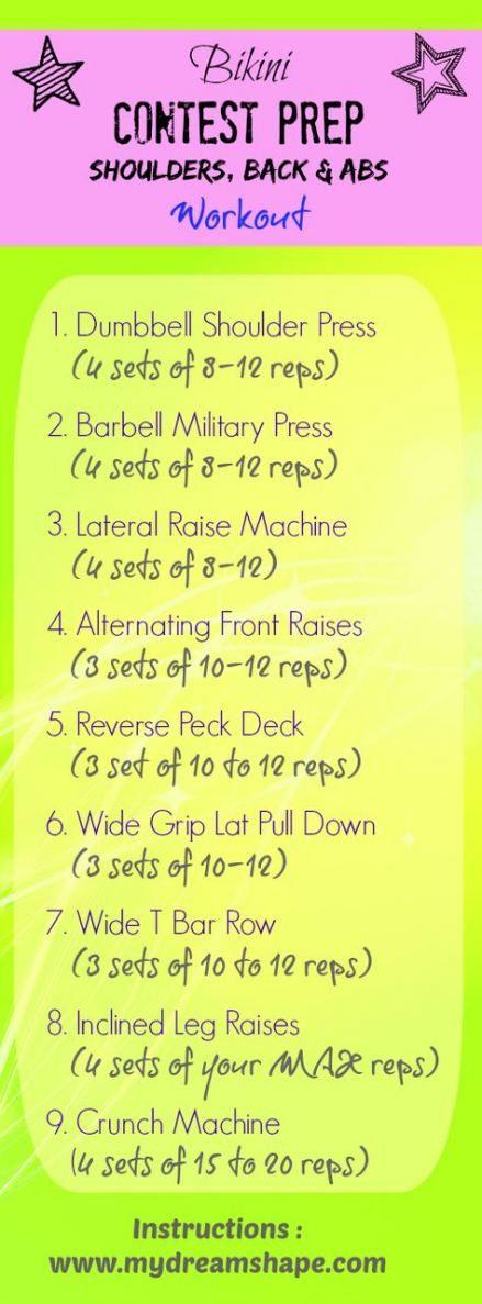 Super Fitness Model Bikini Bodybuilding Ideas #fitness
