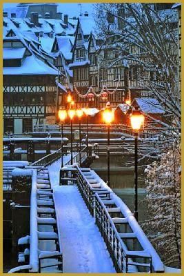 Fotos de Petite France, Estrasburgo, Navidad en Alsacia, Alsacia