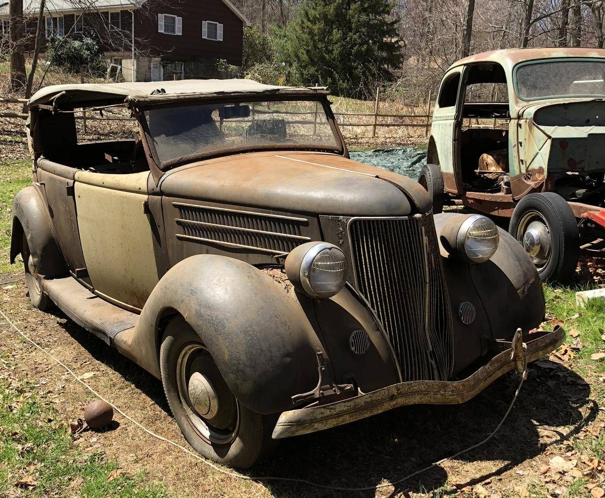 1936 Ford for sale 2121687 Hemmings Motor News Rusty