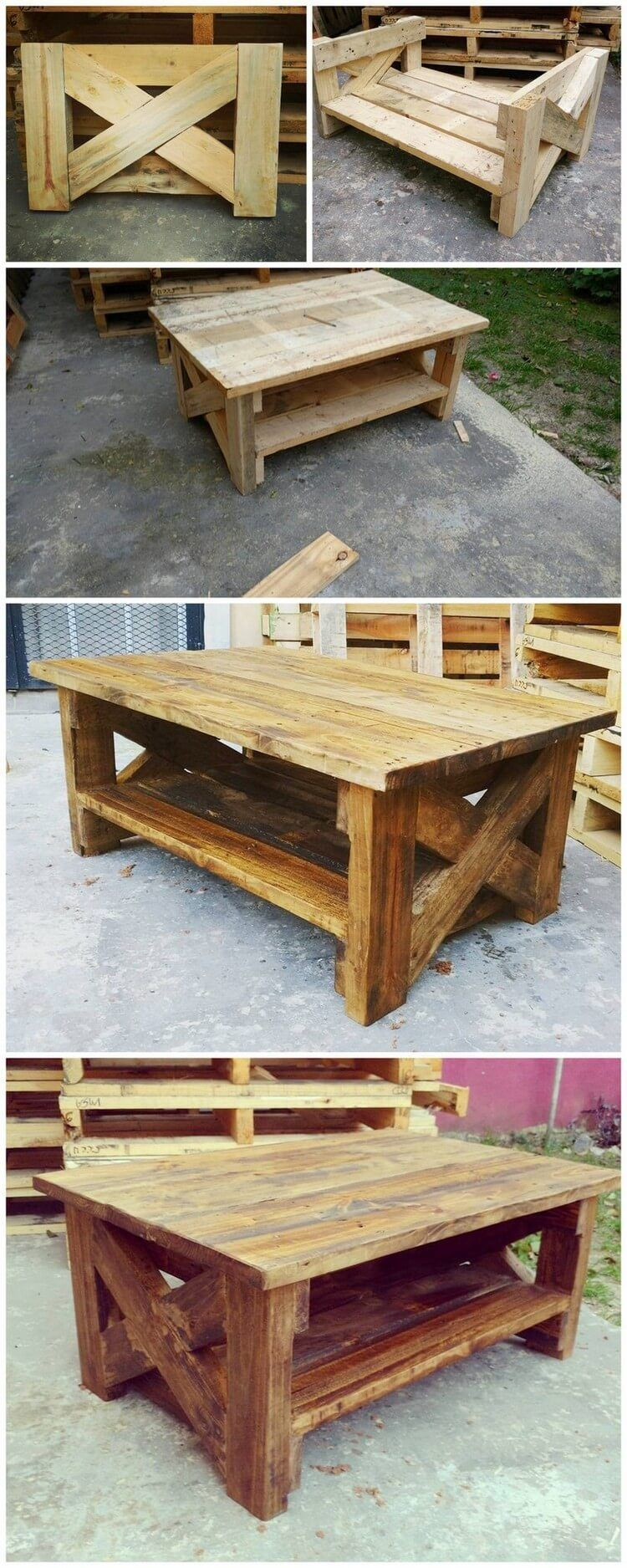 diy pallet table gage s houseee pallet pallet furniture rustic rh pinterest com