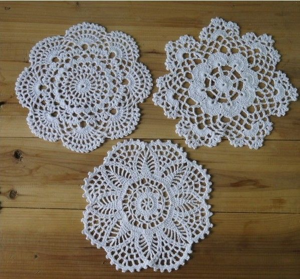 Online Buy Wholesale crochet doilies patterns from China crochet ...
