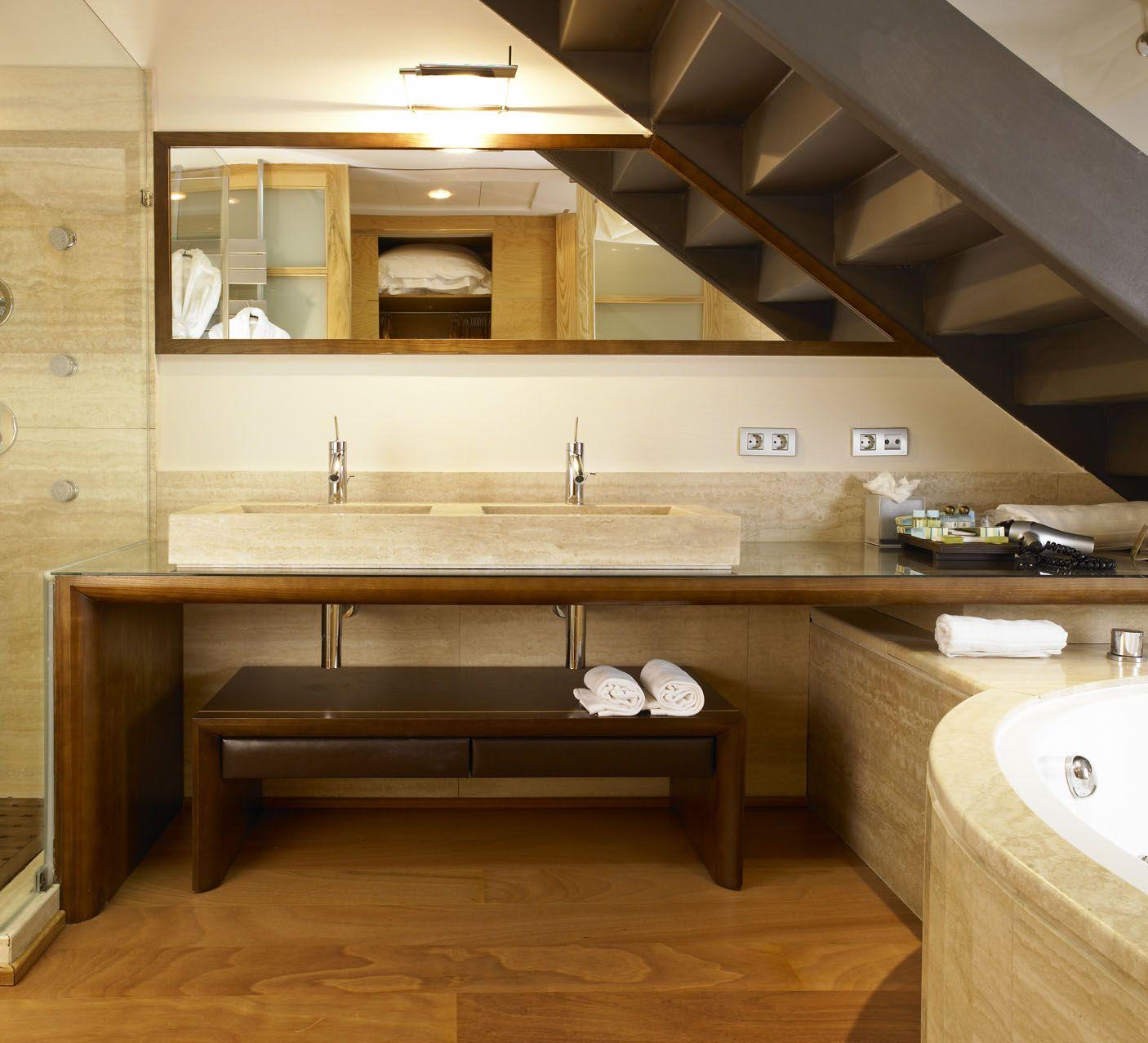 Baño Prestige Junior Suite.