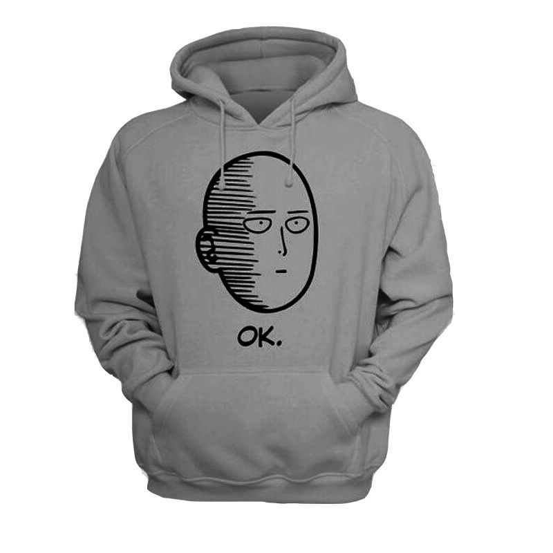 One Punch Man Men and Women Hoodies Anime ONE Oppai Hoodies ONE PUNCH MAN  re make
