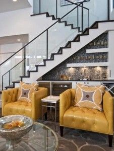 Best Great Ways To Utilize Under The Stair Space In 2020 Bar 400 x 300