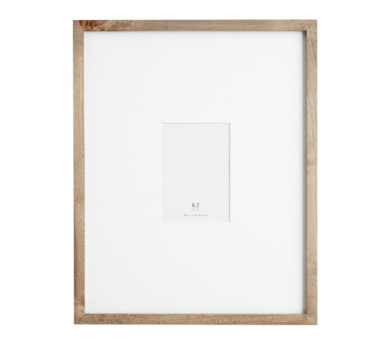 Wood Gallery Oversized Frame 8 X 10 25 Quot X25 Quot Without Mat Black In 2020 Wood Gallery Frames Pottery Barn Picture Frames Frame