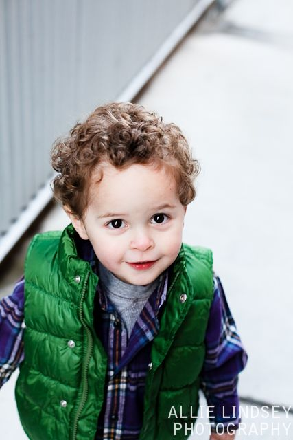 Curly Hairstyle For Toddler : Cute little boy. if only rhyss hair looked like this when grown