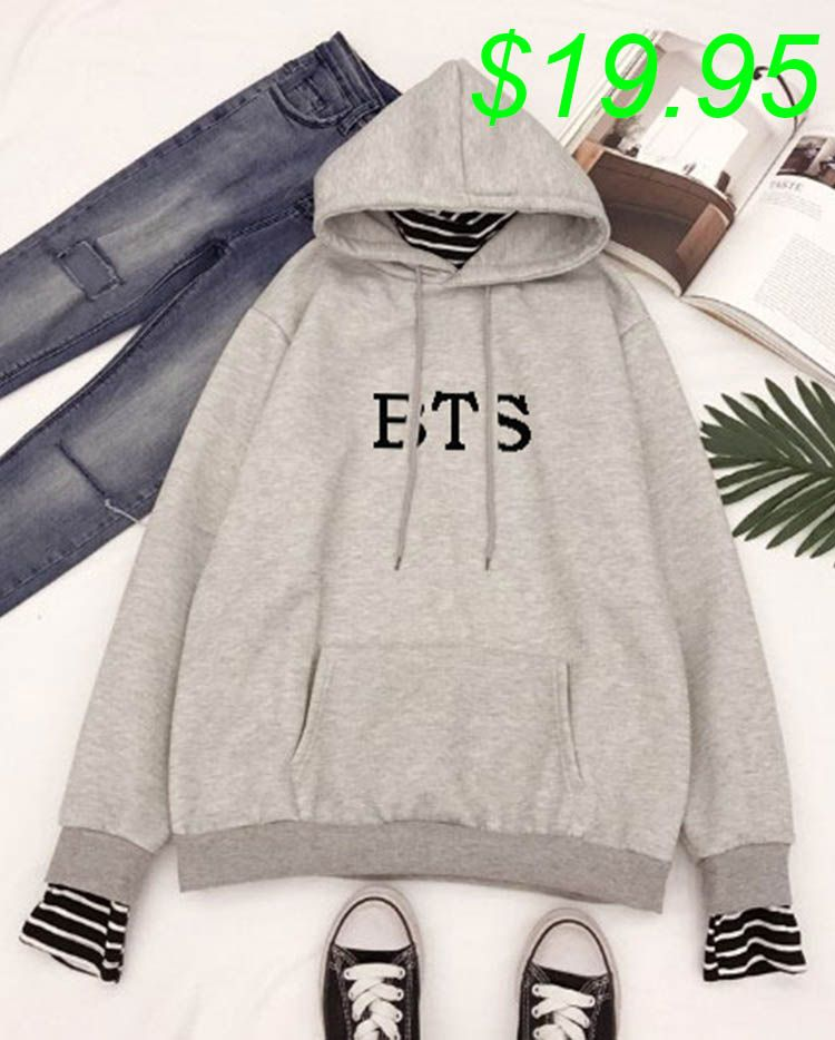 2019 New Hoodie Bangtan Boys Hoodies Sweatshirt Tops Pullovers Kpop Fans  Clothes Oversized Solid Cotton Harajuku c0189a1762d5