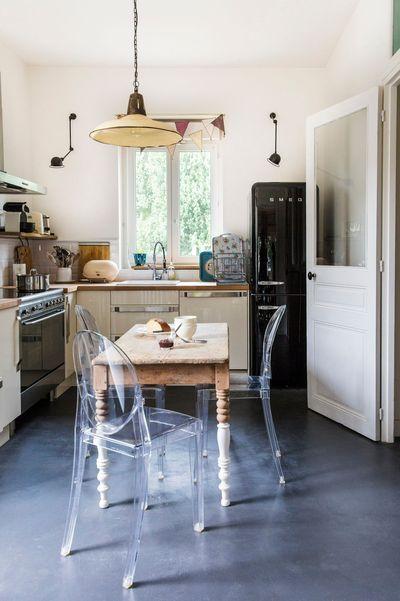Relooker une cuisine : 10 touches déco au top | Tables anciennes ...