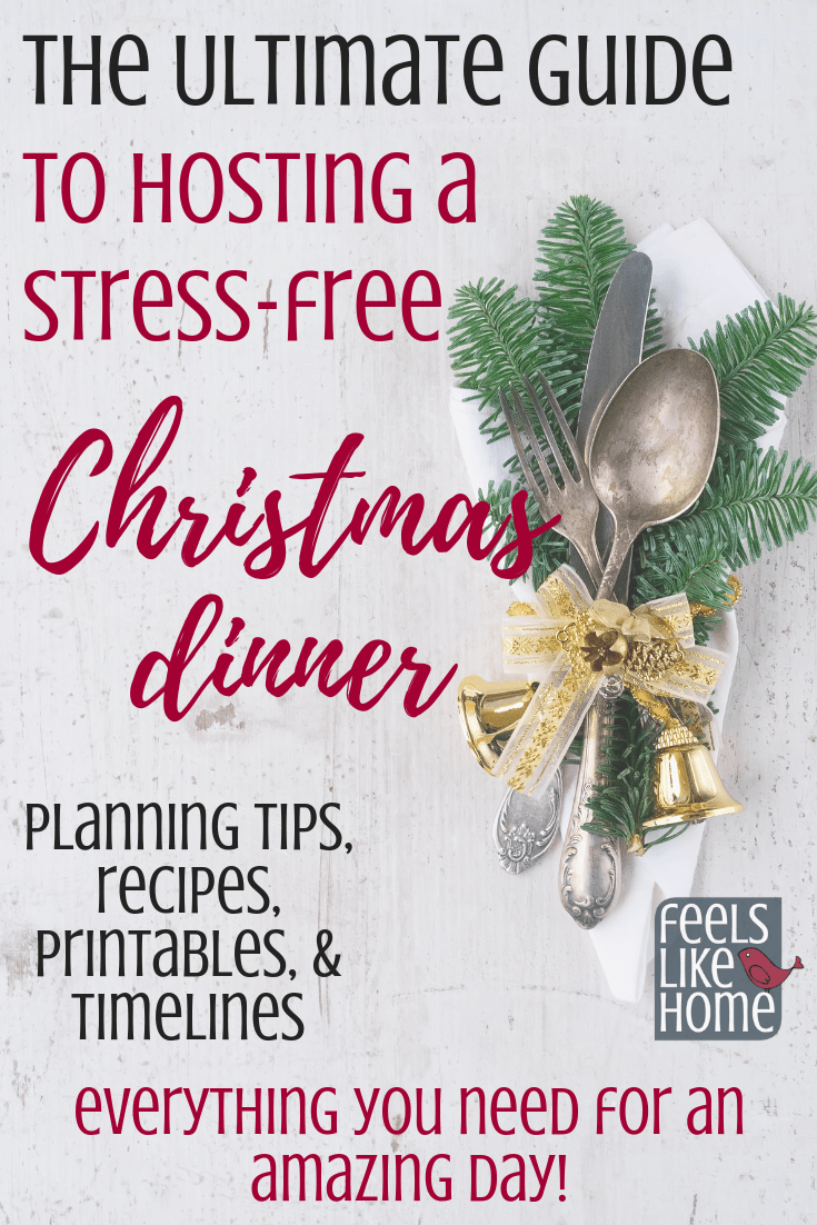Hosting A Simple Thanksgiving Or Christmas Dinner Tips Whether It S Your First Time Hosting Or Your Tenth This Ebook Is Full O Stress Free Christmas