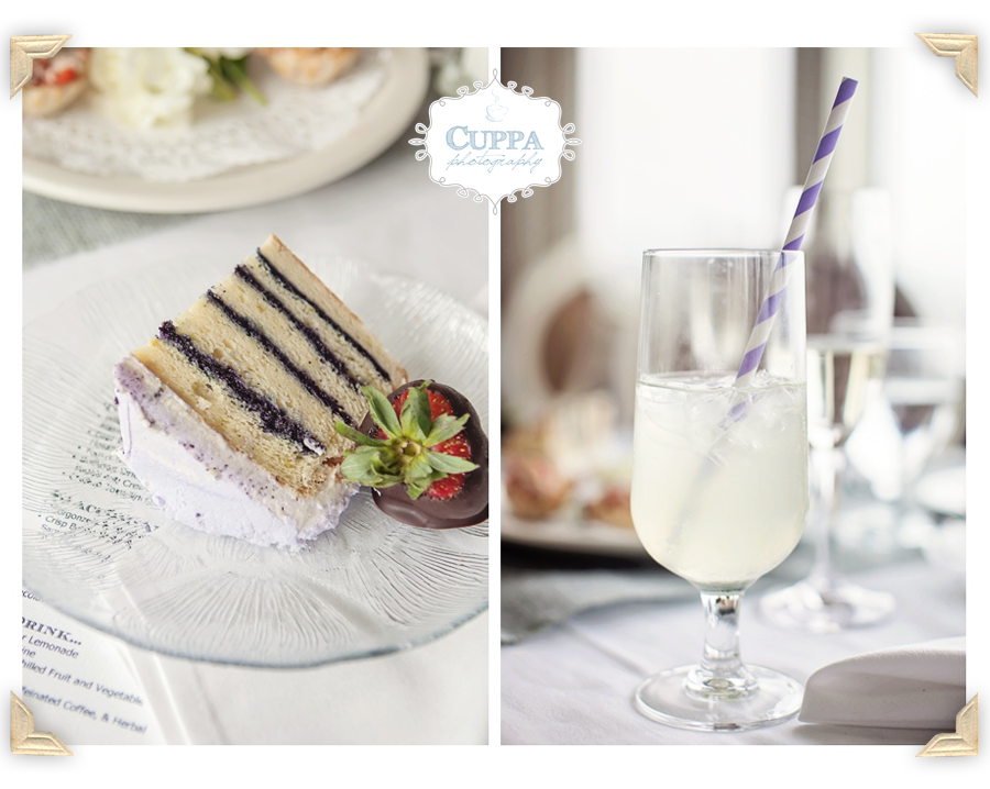 Lavender Lemonade, Lemon sponge cake with blueberry filling with Lavender frosting. Lavender Wedding Cake. Cake by: Celebration Cakes by Janice Strout.  Bar Harbor Inn Wedding.