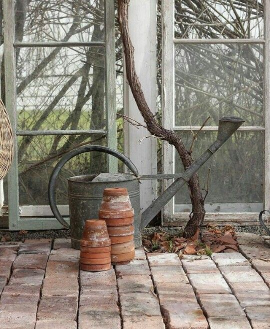 Pin By Bev Streator On Watering Cans Terra Cotta Pots Garden Potting Tables Planting Flowers