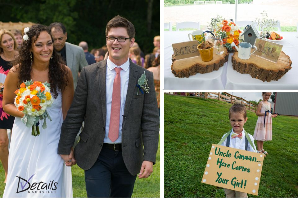 DIY Ring Bearer sign    Canaan & Liz Kagay Wedding    www.detailsnashville.com