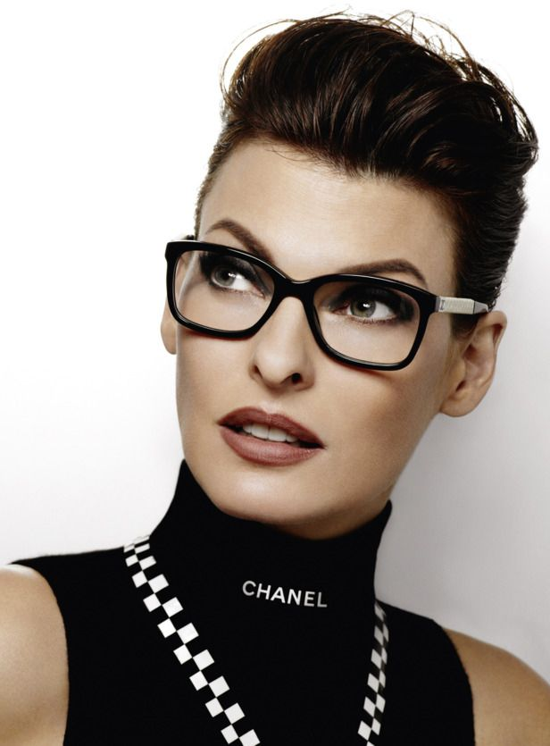 5390c357a Linda Evangelista by Karl Lagerfeld for #Chanel Spring Summer 2012 Eyewear