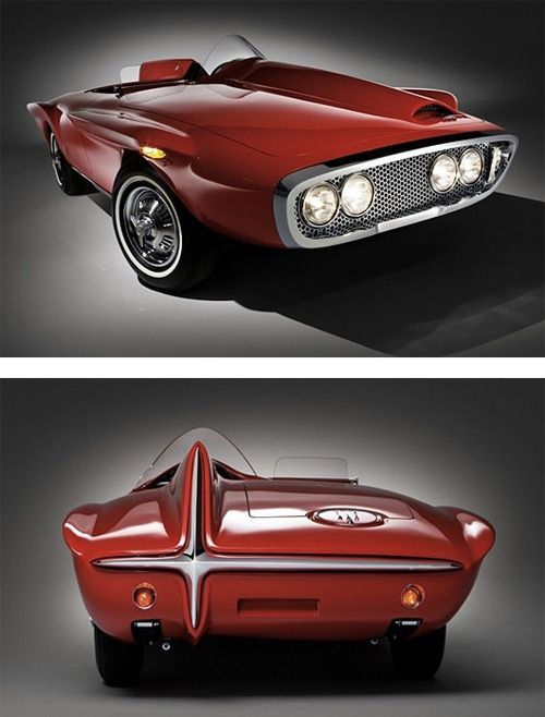 Futuristic 1960s Vintage Concept Car Concept Cars Vintage Concept Cars Vintage Concepts
