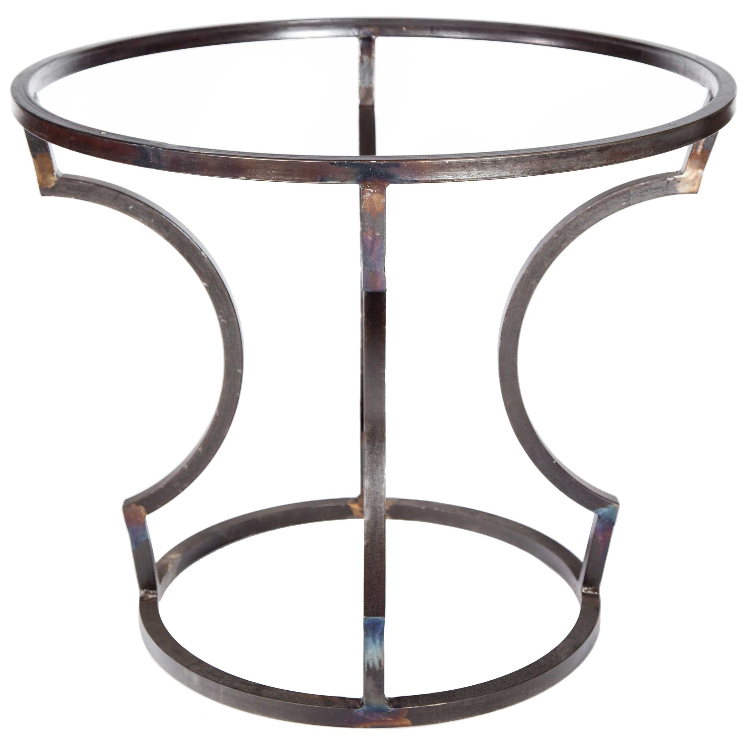Charles Iron Dining Table Base Only Use Your Own Top Dining