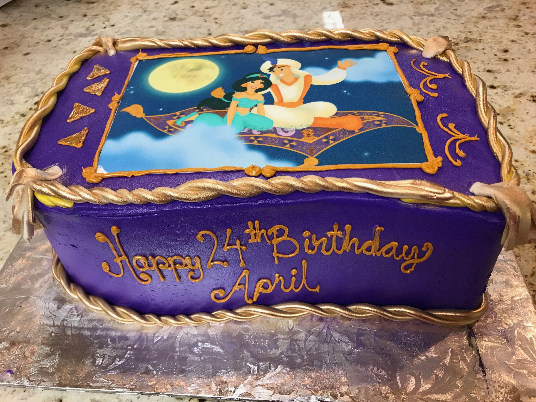 ALADDIN JASMINE CAKE From EL BOLILLO BAKERY In HOUSTON TX Elbolillobakery Houston Bakery Elbolillo Bolillo Aladdin Jasmine Genie Disney