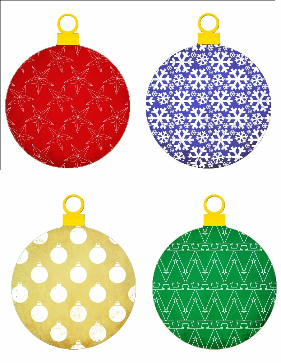 picture relating to Christmas Printable Decorations called ornaments practice.pdf Xmas Printables 3 Printable