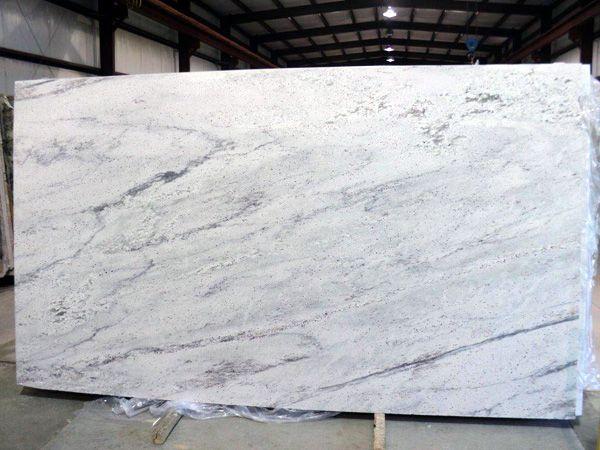 Pretoria White Granite Slab 35 White Granite Slabs Granite Countertops Kitchen White Granite