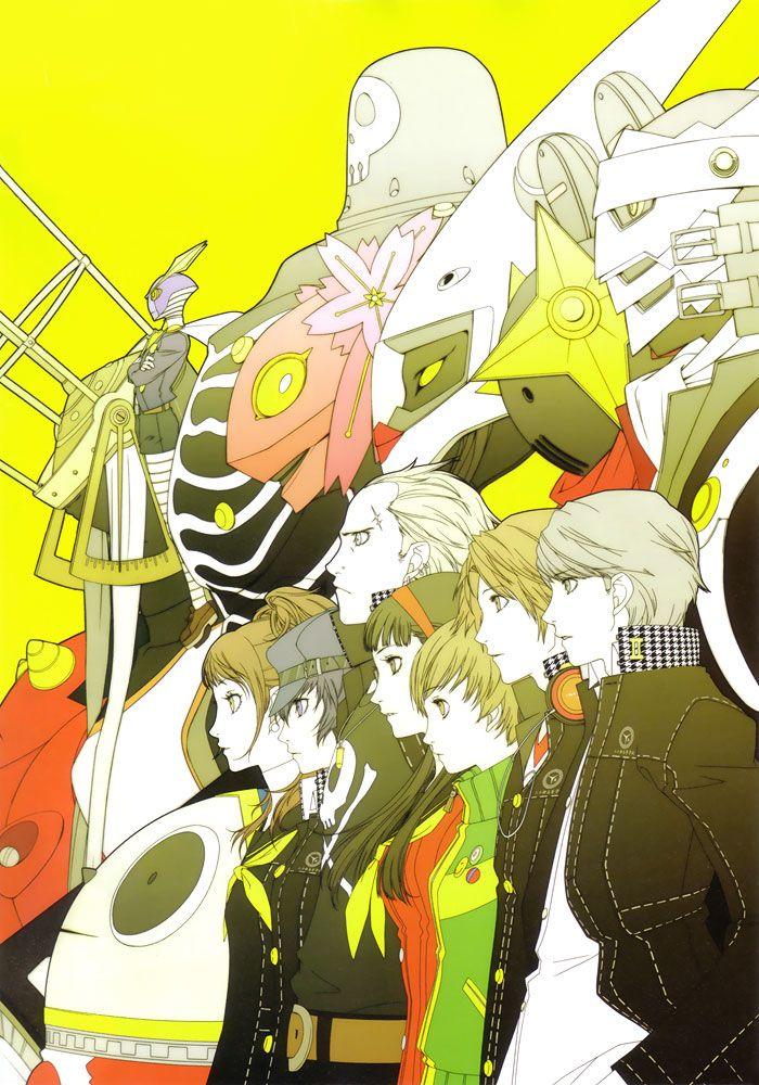 Main Characters Personas Characters Art Persona 4 Persona 4 Wallpaper Persona 4 Persona