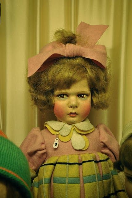 Follow link to doll museum in Paris...  This Is A Delightful Lenci!