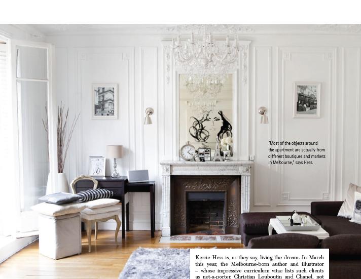 Paris Apartment Chic: Parisian chic apartment interiors. Colorful ...