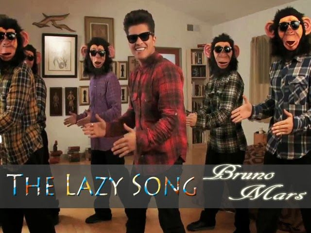 The Lazy Song Bruno Mars Converted