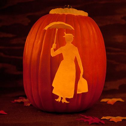 Mary Poppins Pumpkin Template  Pumpkin Template Mary Poppins And