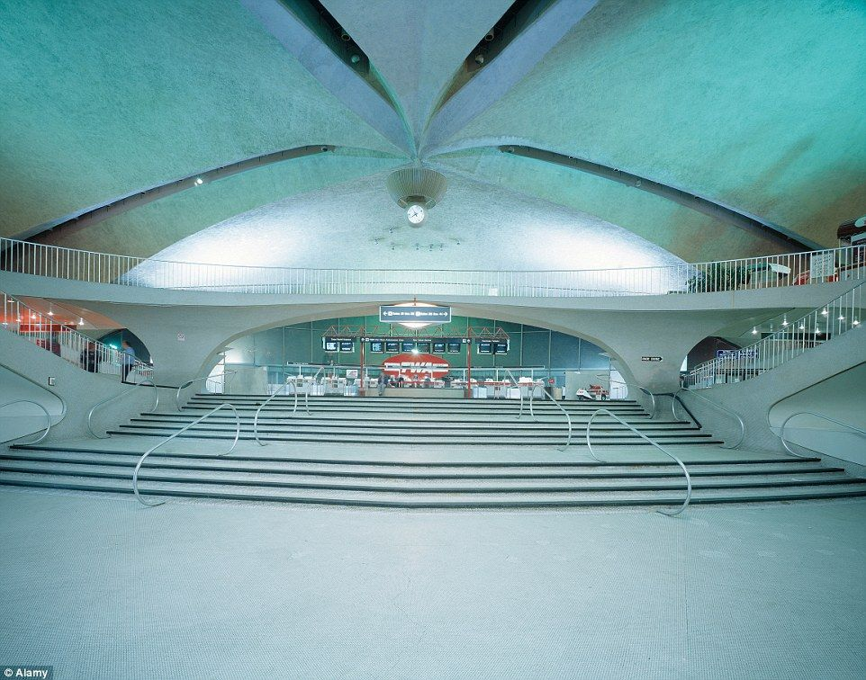 Deserted Places The Legendary Twa Flight Center Terminal Of Jfk Airport