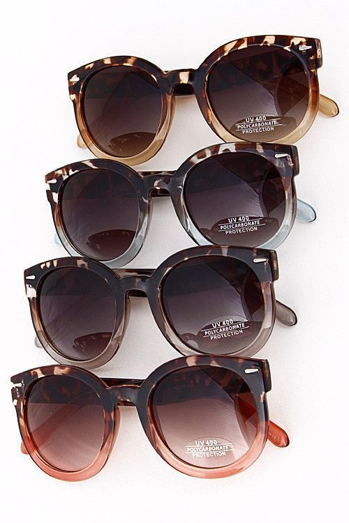 1d1a77f6d9bd4 Vintage twist on a new pair of sunnies. We love the tortoise with the color