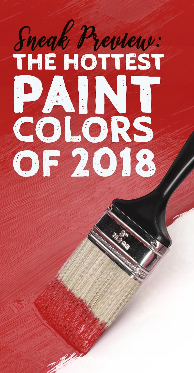 Sneak Preview of the Hottest 2018 Paint Color Trends | ☆ Hometalk ...