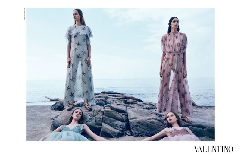VALENTINO GETS ETHEREAL FOR SPRING 2015 AD CAMPAIGN