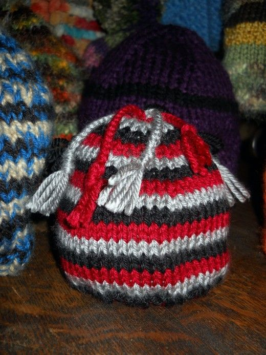 How to Knit an Easy Beanie Hat with Straight Needles | Easy, Knitted ...
