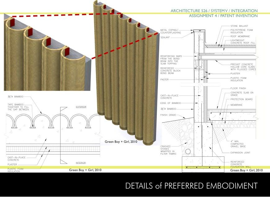 Bamboo Structural Concept With Images Concept Art Concept Design