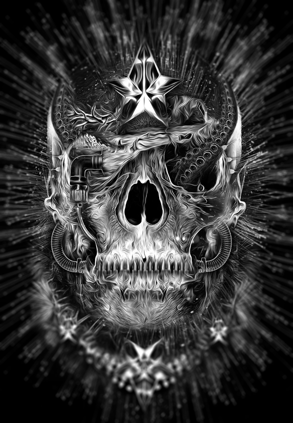 FANTASMAGORIK® SKULLSHINE by obery nicolas, via Behance