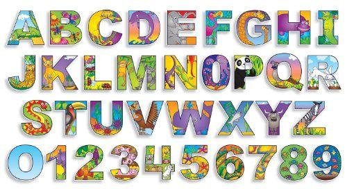 Illustrated Alphabet Numbers Bulletin Board Scholastic Teacher S Friend Http Www Amazon Com Dp 05 Alphabet Illustration Free Lettering Alphabet And Numbers